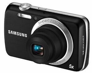Samsung PL20 14.2 MP Digital Camera - Bl...