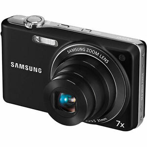 Samsung PL201 14.2 MP Digital Camera - B...