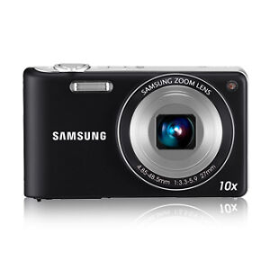 Samsung PL210 14.2 MP Digital Camera - B...