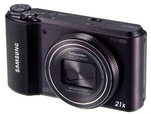 Samsung-WB850F-4-GB-SD-16-MP-Digitalkamera-Schwarz-NEU-WB-850-F-GPS-WLAN-Zoom