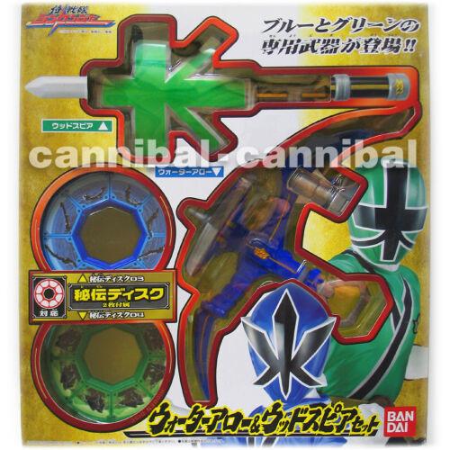 ~ Samurai SHINKENGER - Power Rangers weapon - WATER ARROW + WOOD SPEAR + 2 disc in Toys & Hobbies, Action Figures, TV, Movie & Video Games | eBay