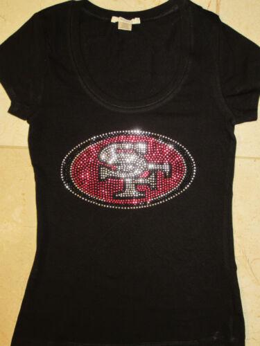 San Francisco 49ers rhinestone t-shirt size XL, 2XL, 3XL in Sports Mem, Cards & Fan Shop, Fan Apparel & Souvenirs, Football-NFL | eBay