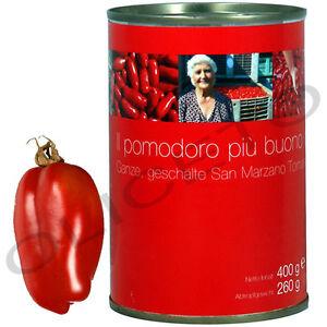 san marzano dosentomaten 400 260 g il pomodoro pi buono tomaten. Black Bedroom Furniture Sets. Home Design Ideas