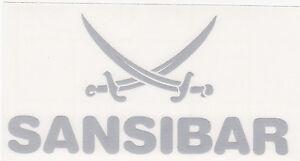 Sansibar-Sylt-Auto-Aufkleber-SILBER-DAS-ORIGINAL-ca-13x7-5-cm