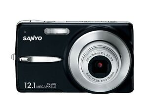 Sanyo VPC X1200 12.0 MP Digital Camera -...