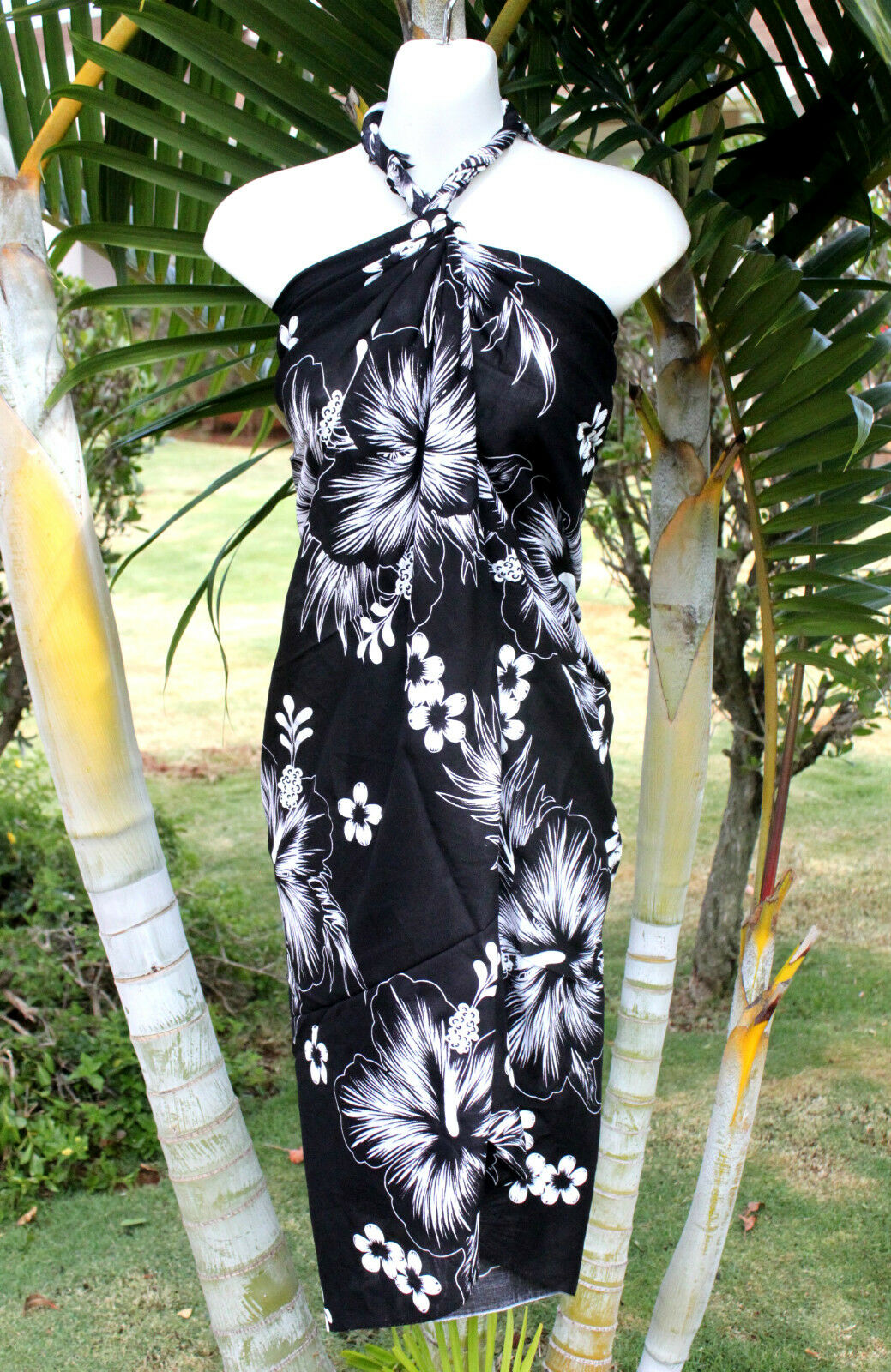 how to tie hawaiian dresses wraps