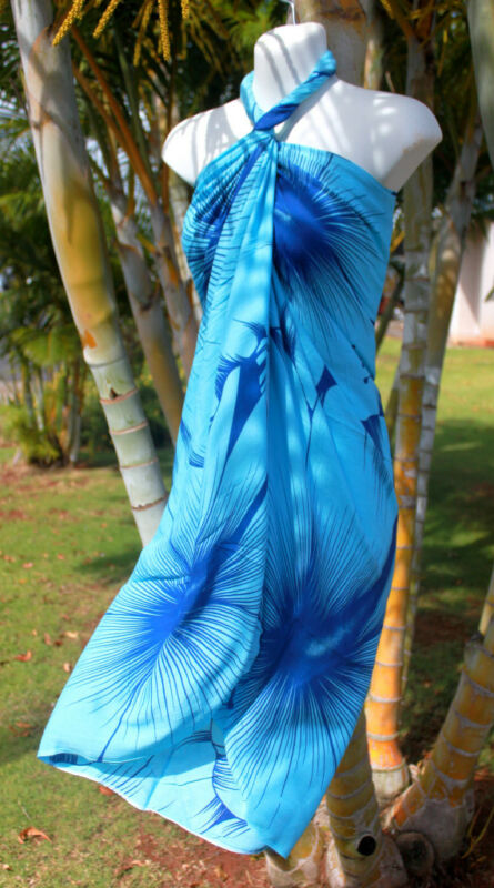 how to tie pareo sarong