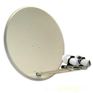 Sat-Anlage-mit-2-LNB-0-1db-HDTV-10-m-K-Kabel-GRATIS