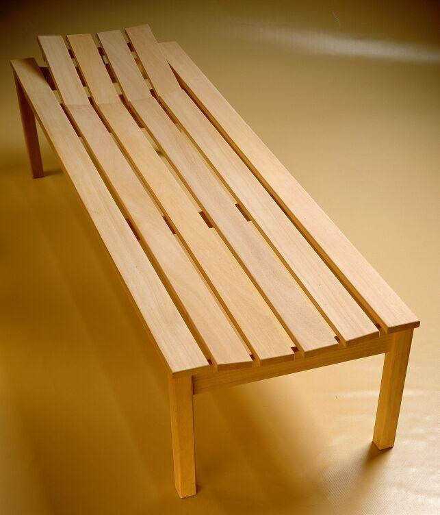 saunahocker saunabank saunaliege saunatreppe holzliege. Black Bedroom Furniture Sets. Home Design Ideas