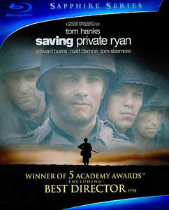 Saving Private Ryan (Blu-ray Disc, 2010,...