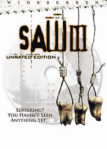 Saw III (DVD, 2007, Unrated Widescreen)