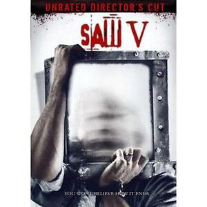 Saw V (DVD, 2009, Widescreen Version; Un...