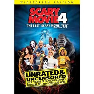 Scary Movie 4 (DVD, 2006, Unrated, Wides...