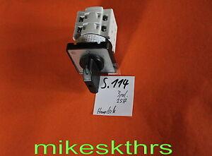Schalter-Hauptschalter-25A-500V-3pol-S-114
