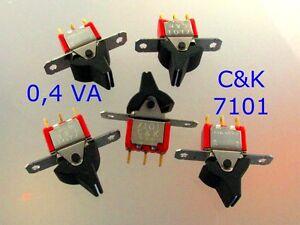 Schalter-Kippschalter-1-x-Um-oder-On-On-0-4-VA-von-C-K-USA-Bauelemente