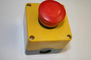 Schalter-Pilzschalter-Not-Aus-Taster-aP-K-B-1O-63410