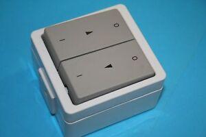 Schalter-Vedder-Jalousie-Taster-93281D-auf-Putz-IP44