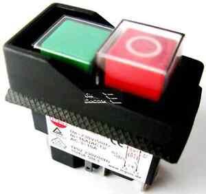 Schalter-fuer-Einbau-Motorschalter-Untersp-Ausloeser-2x-Schliesser-230V-16A-50Hz