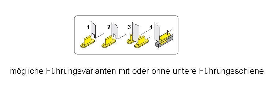 schiebet rsystem f r 3 50 kg gewichtsbelastung 6. Black Bedroom Furniture Sets. Home Design Ideas