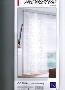 schiebevorhang fl chenvorhang fertiggardinewei bambus 60 cm breit 255 hoch ebay. Black Bedroom Furniture Sets. Home Design Ideas