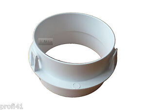 schlauchadapter f r schlauch abluftschlauch 100 mm durchmesser miele trockner ebay. Black Bedroom Furniture Sets. Home Design Ideas