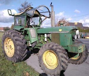 Schlepper-Traktor-John-Deere-4020-Allrad