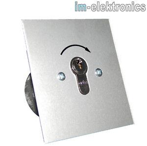 Schluesseltaster-Schluesselschalter-UP-fuer-Garagentorantrieb-Torantrieb-Garagentor