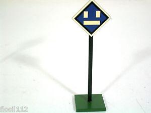 Schoenes-Signal-Schild-Heidt-Zubehoer-Kleinserie-Handarbeit-Spur-0-selten-Top