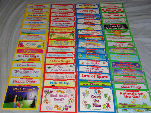 Scholastic- 60 guided reading books