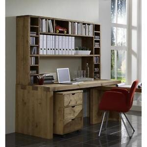 schreibtisch arbeitszimmer pc tisch b ro m bel komplett massiv holz kiefer antik ebay. Black Bedroom Furniture Sets. Home Design Ideas