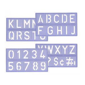 Schrift schablone 5cm buchstabenschablonen for Fenster 06188 landsberg