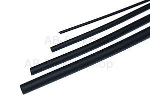Schrumpfschlauch-1-6-bis-25-4mm-schwarz-Schrumpffaktor-2-1-TOP-Qualitaet