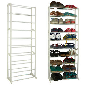 schuhschrank schuhregal schuhablage schuh aufbewahrung 30. Black Bedroom Furniture Sets. Home Design Ideas
