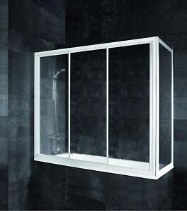 schulte komfort gleitt r auf badewanne badewannen aufsatz badewannen duschwand ebay. Black Bedroom Furniture Sets. Home Design Ideas