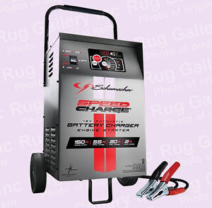 Charging  Battery Amps on Speedcharge Wheel Car Battery Charger 150 Amp Engine Start Se 1555a