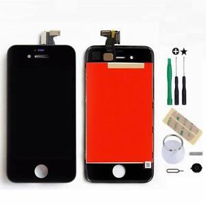 Schwarz-LCD-Display-Touchscreen-Bildschirm-Komplettset-Glas-fuer-iPhone-4S-Ori