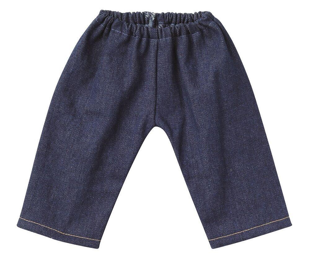 schwenk puppenkleidung jeanshose dunkelblau f r 36 40. Black Bedroom Furniture Sets. Home Design Ideas