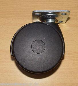 Schwerlast-Moebelrolle-80mm-80kg-pro-Rolle-Platte-Neu
