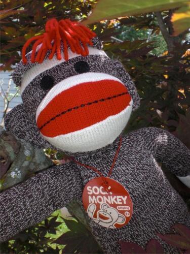 "Schylling 20"" Red Heel Sock Monkey Plush Doll -NIB! in Toys & Hobbies, Stuffed Animals, Other   eBay"