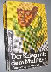 Sci-Fi-DDR-Vladimir-PARAL-Der-Krieg-mit-dem-Multitier-PHANTASTISCHER-ROMAN-1987