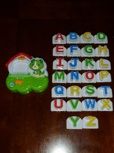 Scout and Doghouse LeapFrog Fridge Phonics Magnetic Alphabet Set *Complete* in Toys & Hobbies, Educational, Learning Systems | eBay