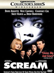 Scream (DVD, 1998, Collector's Edition)