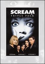 Scream Triple Pack (DVD, 2009, 3-Disc Se...