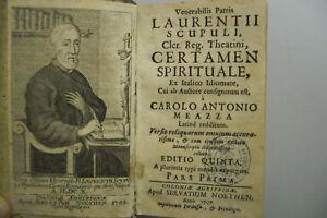 Scupoli-Certamen-spirituale-Koeln-1707