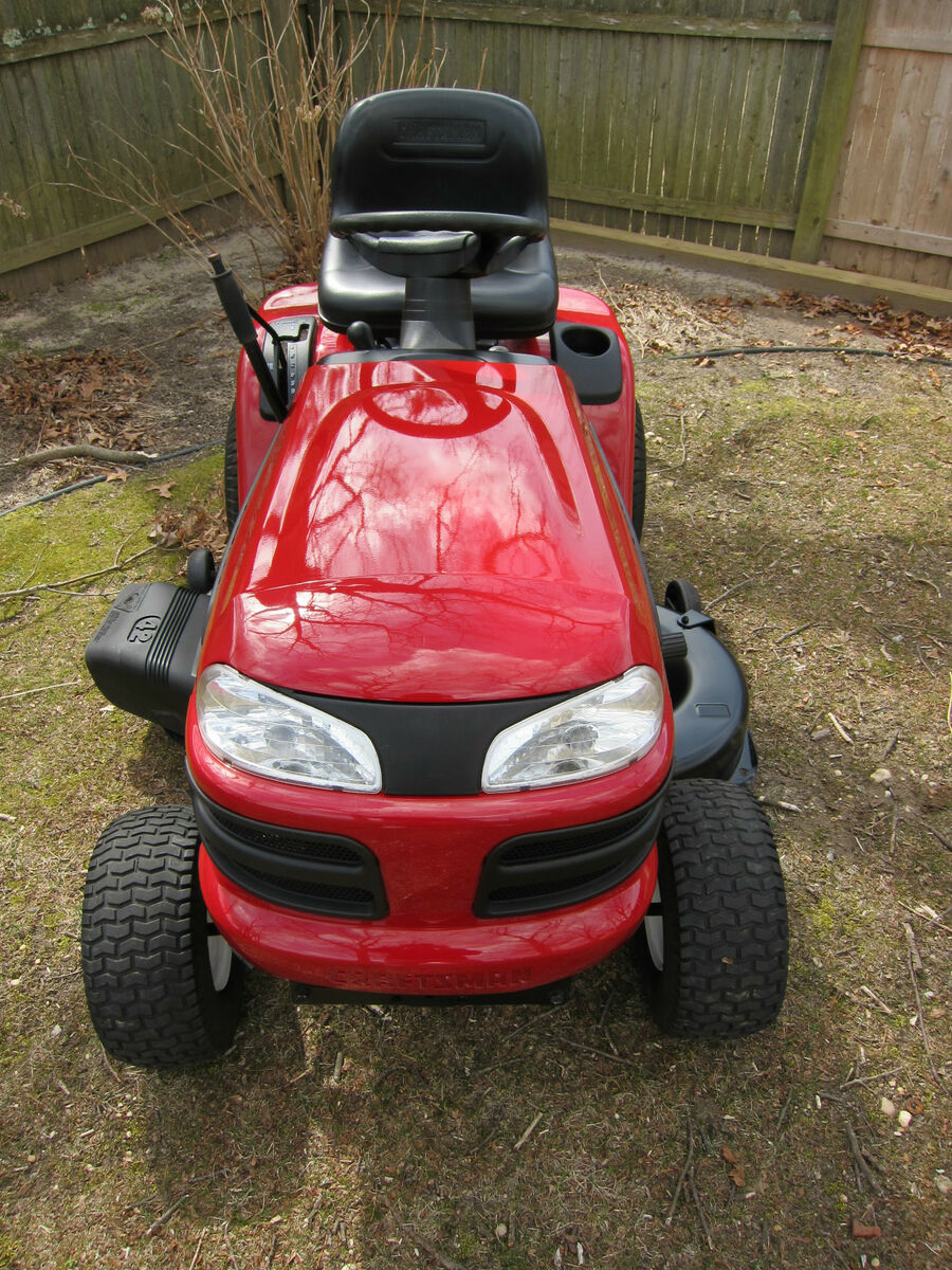 Craftsman 3000 Lawn Tractor : Craftsman dlt quot mower lawn tractor hp briggs