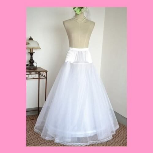 sale crinoline petticoat wedding dress slip 1hoop 2hoop 3hoop ebay