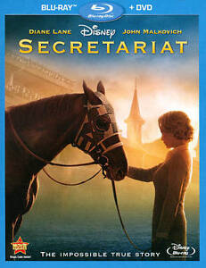 Secretariat (Blu-ray/DVD, 2011, 2-Disc S...