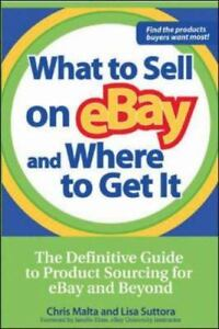 What to Sell on eBay and Where to Get It...