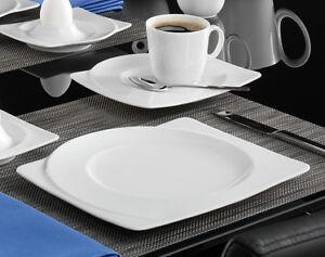 seltmann weiden paso uni weiss kaffeeservice 18 tlg eckig ebay. Black Bedroom Furniture Sets. Home Design Ideas