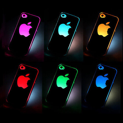 Sense Flash colors changing LED LCD light Case Cover for A pple i Phone 4 4S 4G in Consumer Electronics, Wholesale Lots, Other | eBay